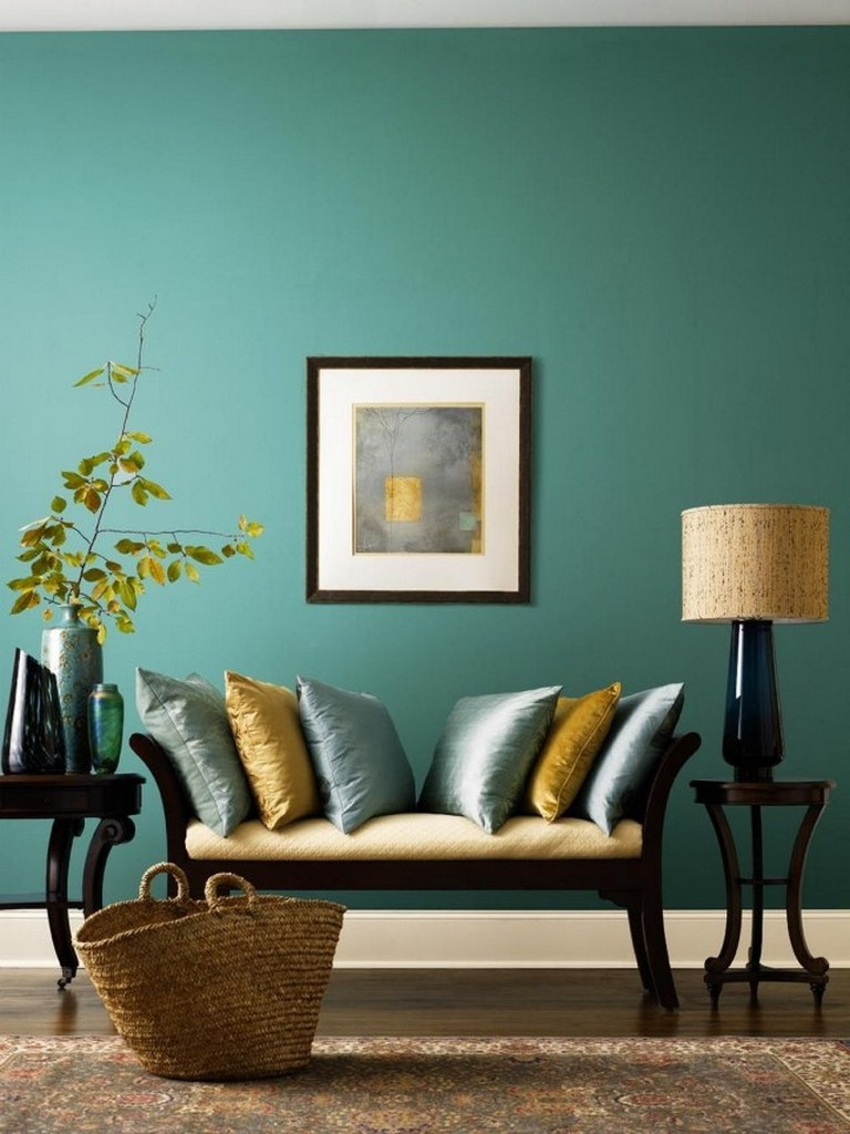 Mustard Living Room Decor: 20+ MUSTARD AND BLUE LIVING ROOM DECORATION FOR YOUR HOME