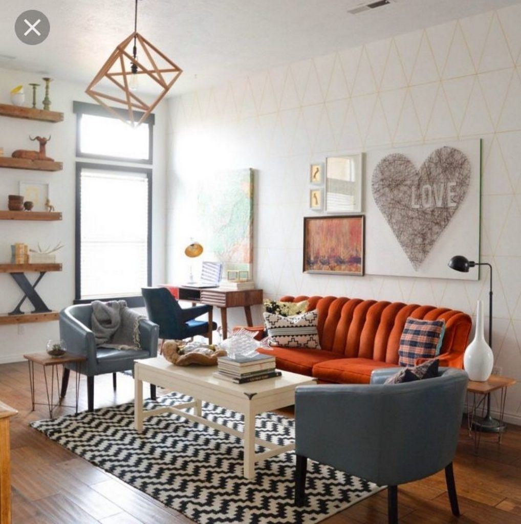 Next Living Room Ideas 2018: 30+ CLEVER WAYS TO DECORATE YOUR LIVING ROOM WITH HIPSTER