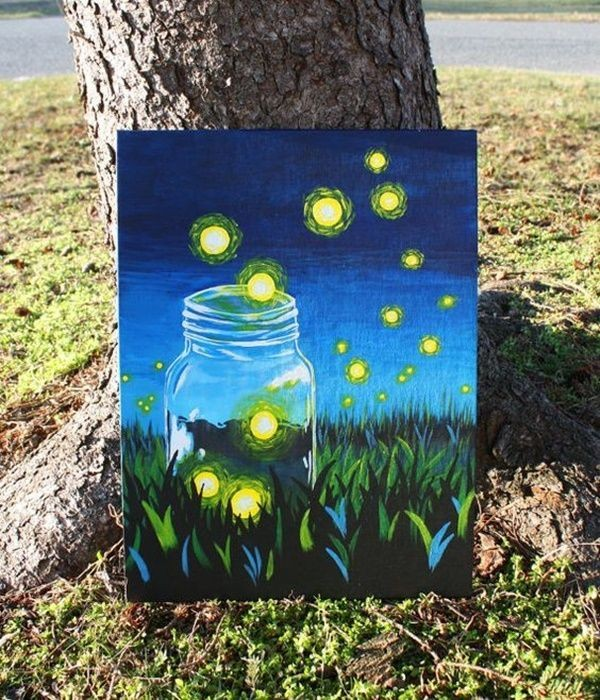 50 Pretty Diy Canvas Painting Ideas For Your Home Projects