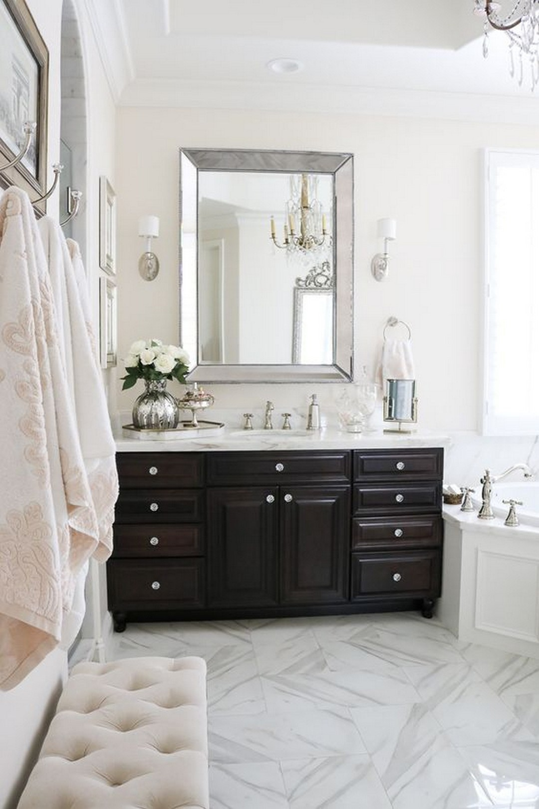 10 MAKE ELEGANT MASTER BATHROOM WITH THE FOLLOWING GREAT IDEAS