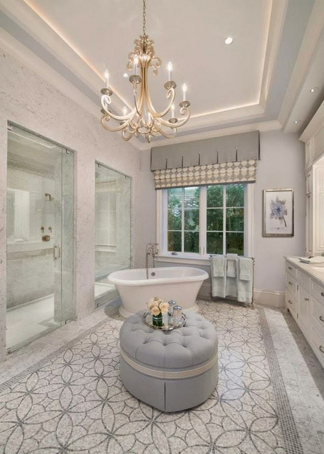 09 make elegant master bathroom with the following great