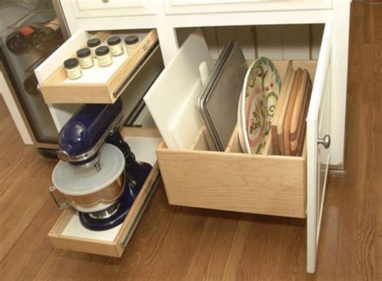 40 Smart Kitchen Cabinet Organization Ideas